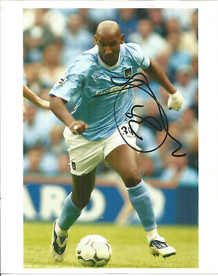 Football Autograph Nicolas Anelka Manchester City Signed Photograph F1488
