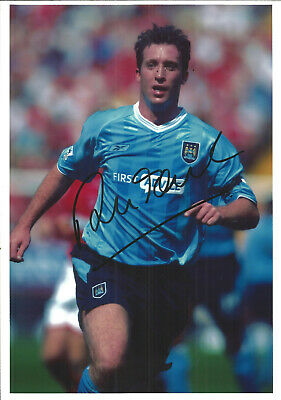 Football Autograph Robbie Fowler Manchester City Signed Photograph F1491