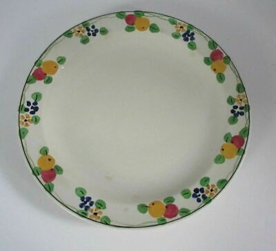 "Ridgways Hand Painted Dinner Plate Bedford Ware ""The Truro"" English"