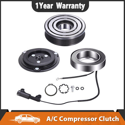AC Compressor Clutch Kit Front Plate Bearing 2002-2008 For Mini Cooper