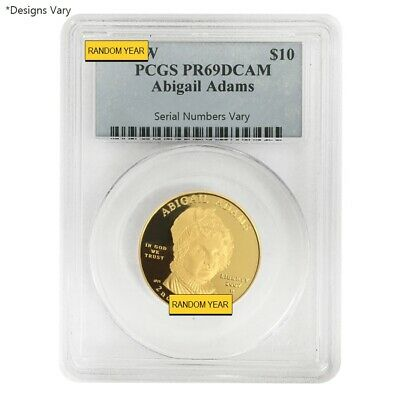 1/2 oz Gold First Spouse Coins NGC/PCGS MS/PF 69 Random Year