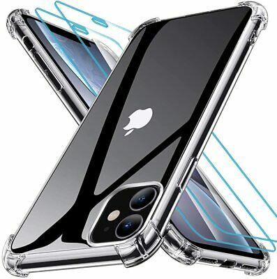 Case For iPhone 11 XR 8 7 6 Plus Max Bumper Shockproof Silicone Protective Cover