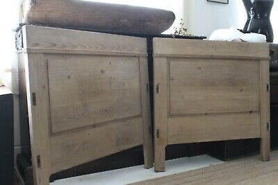 Vintage French Bed  Antique 19th Century Stripped Continental INCLUDING DELIVERY