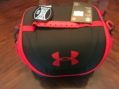 Under Armour  Cooler Insulated Lunch Bag with Strap 12 Cans Red Blue