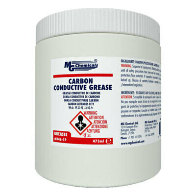 MG Chemicals Carbon Conductive Grease, 1 Pint