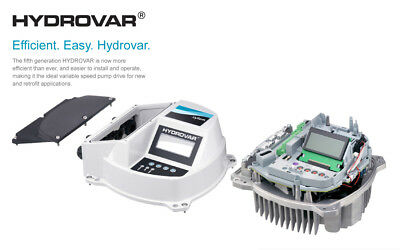 Xylem 5th Generation Hydrovar HVL4.040  motor mounted pump controller New!!!