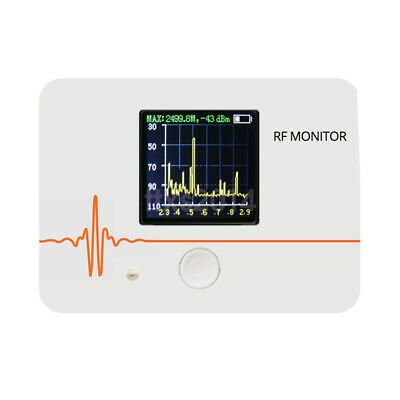New RF Monitor 200~900MHz 2.3-2.9GHz Frequency Spectrometer Spectrum Analyzer