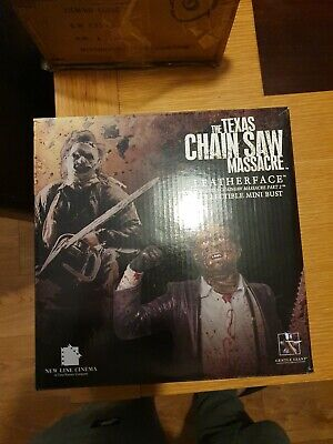 GentleGiant Texas Chainsaw Massacre LEATHERFACE horror zombie statue bust figure