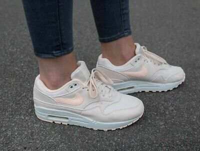 WOMENS NIKE AIR MAX 1 Guava Ice Trainers 319986 802 EUR 94