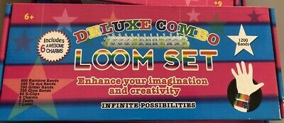 Deluxe Combo Loom Set, Fun, 12 Bands, Creative, Loombands, Bracelets, Age 6+