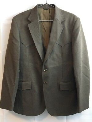 Men's Vintage BIG E LEVI'S Blazer Western Jacket Sport Coat Size 40R Rockabilly
