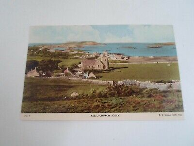 SCILLY - Tresco Church No 4 by F E Gibson, Scilly Isles §E1808