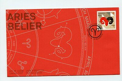 Canada FDC #2449 Signs of the Zodiac Aries Ram 2011 73-7