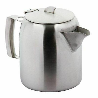 Airline Brushed Finish Stainless Steel Teapot - Capacity 1.6 L / 56 fl oz