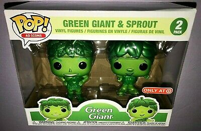 Funko POP GREEN GIANT & SPROUT 2 PACK **NEW TARGET EXCLUSIVE**