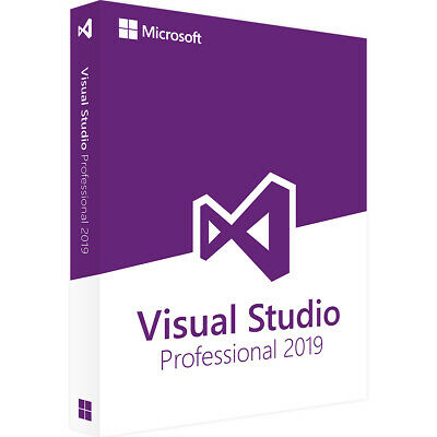 Microsoft Visual Studio Professional 2019 - Lifetime License Activation Key 🔑⚡️