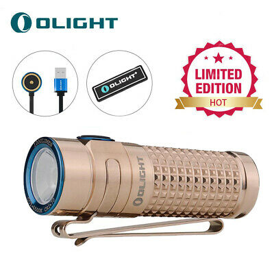 Olight S1R II Titanium Summer 1000 Lumen Rechargeable Limited Edition Flashlight