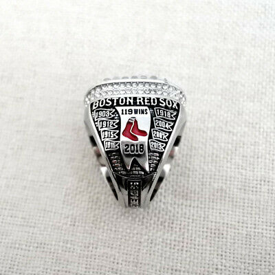 2018 Boston Red Sox World Series Championship Ring Collect Man