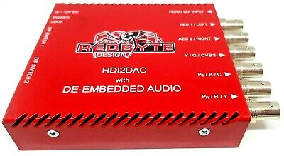Redbyte HDI2DAC Converter with AES De-embedded Audio Module