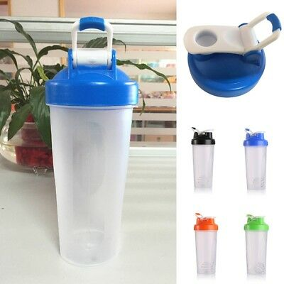 600ML Shake Protein Blender Shaker Mixer Cup Drink Bottle Cocktail nueu Simple