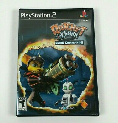 RATCHET & CLANK (PS2) 4 Game Bundle - 3 GAME MANUALS INCLUDED