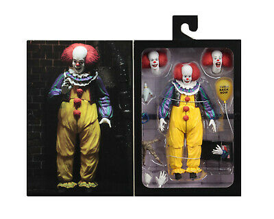 """IT (1990) PENNYWISE (Version 2) 7"""" Scale Ultimate Action Figure NECA In Stock"""