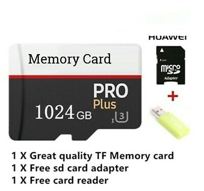 1024GB 512GB 256GB Micro SD 1TB Card Class 10 camera Flash Memory TF Card
