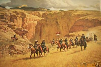 SPECIAL OFFERING - TWO RARE signed & numbered ltd. ed. prints by Frank McCarthy
