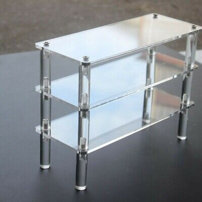 Acrylic Clear Stand Model Removable Display Shelf Transparent Perspex Stands