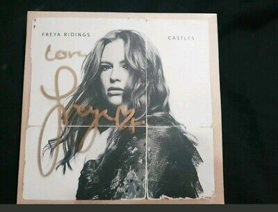 Freya Ridings Limited Signed(Gold) Edition - Castles (Cd Single)