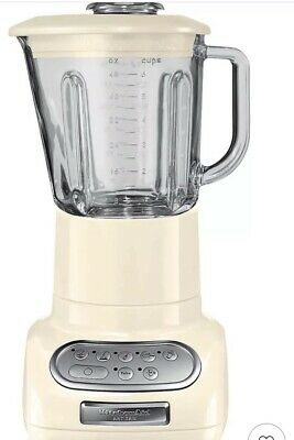 KitchenAid Artisan Blender, Almond Cream, In excellent pre-owned condition.