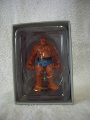 Eaglemoss Classic Marvel Figurine Collection Lead Figures # 4 Thing