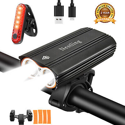 5200LM 4 Cree XML T6 LED MTB Mountain Bicycle Bike Front Lights Headlight Lamp