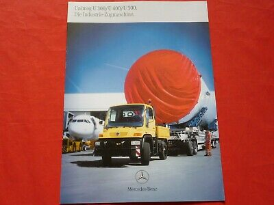 Mercedes-Benz LKW Sattelzugmaschine 1929 AS Prospekt Brochure 07.1989