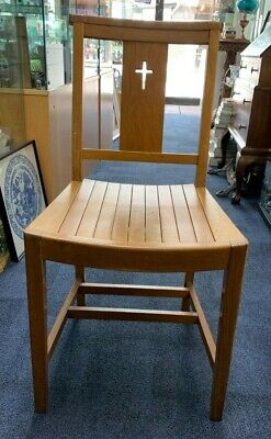 Solid Oak Church Chairs