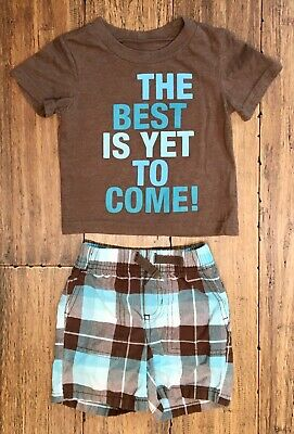 Circo Baby Boy 2-Piece Outfit T-Shirt & Shorts - SIZE 12 MOS