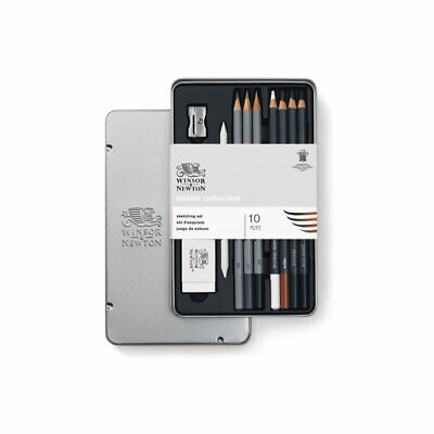 Winsor & Newton Studio Collection Professional Sketching Pencil & Accessory Set