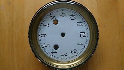 Antique french clock Bezel and Dial