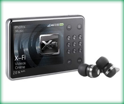 Creative ZEN X-Fi Black ( 16 GB ) Digital Media Player #7873