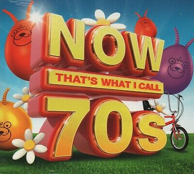 NOW THAT'S WHAT I CALL 70s - CD album (3 CDs, 59 tracks)