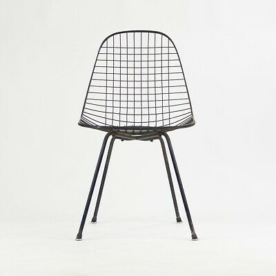 1954 Herman Miller Eames Wire Shell Chair X Base DKX All Original Venice