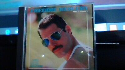 Freddie Mercury Mr Bad Guy Ex Cond Columbia Made In Heaven Living On My Own