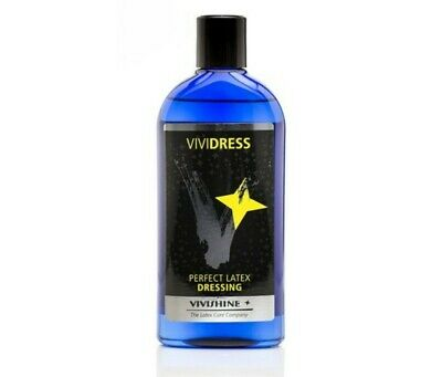 Vividress 250 ML by Vivishine Latex Rubber Dressing Aid perfect for rubber gear