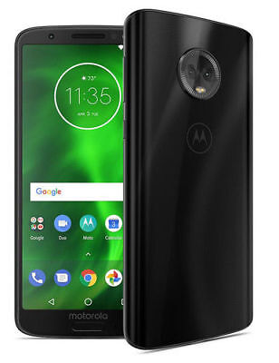 Motorola Moto G6th Generation XT1922- 32GB - Black GSM Unlocked. New inbox