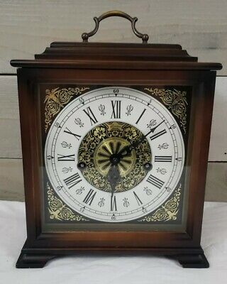 Linden/Cuckoo Clock Mfg Co West Germany C1970 8 Day Lantern Carriage Style Clock
