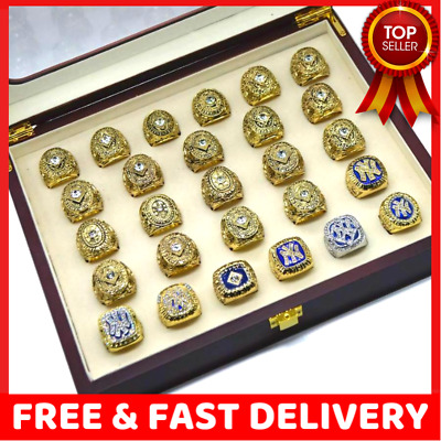27 RINGS / Set New YOrk YANKEES All World Series Championship Ring Gift for Fans