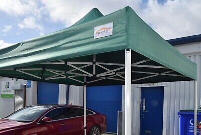 NEW TITAN® HEX 40 HEAVY DUTY POP UP MARQUEE STRONGEST FRAME ON EBAY GREEN 3 x 3