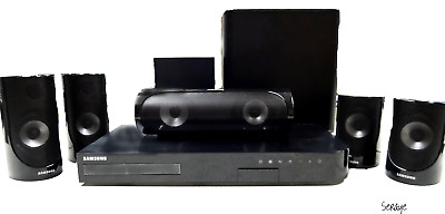 Samsung HT-J5500W 3D-Blu-Ray & DVD Home Theater System 5 Speakers