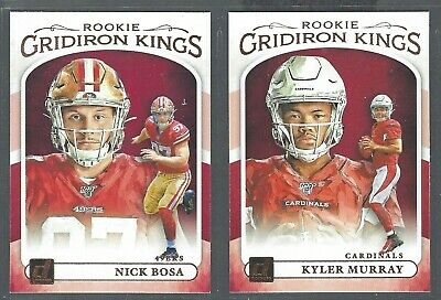 2019 Donruss Football ROOKIE Gridiron Kings RC Complete Your Set - You Pick!
