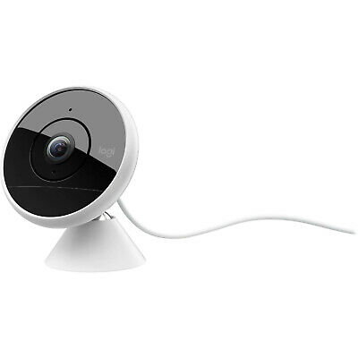 New Logitech Circle 2 Indoor/Outdoor Weatherproof Wired Home Security Camera